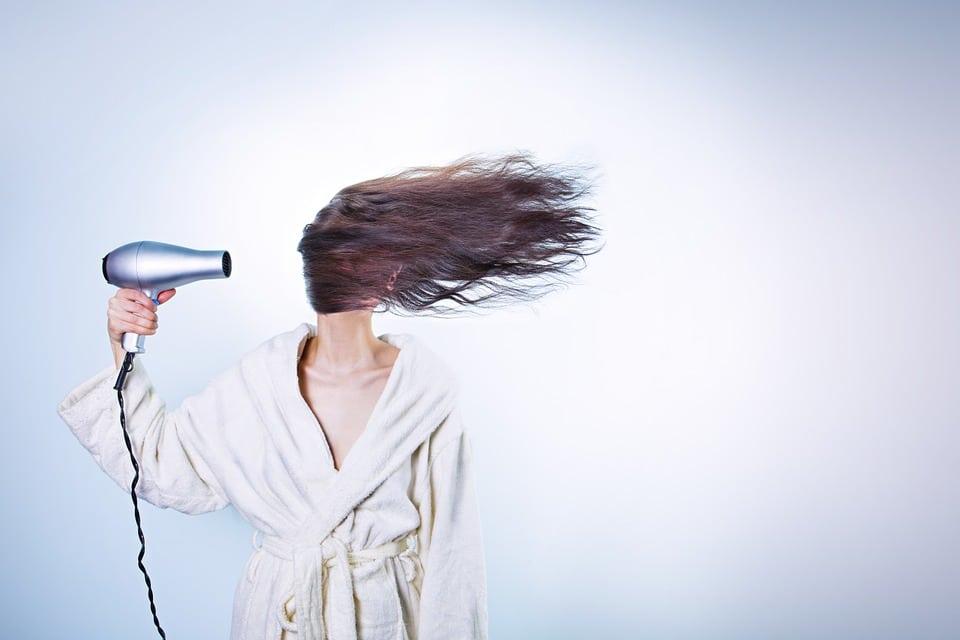 Sèche cheveux silencieux